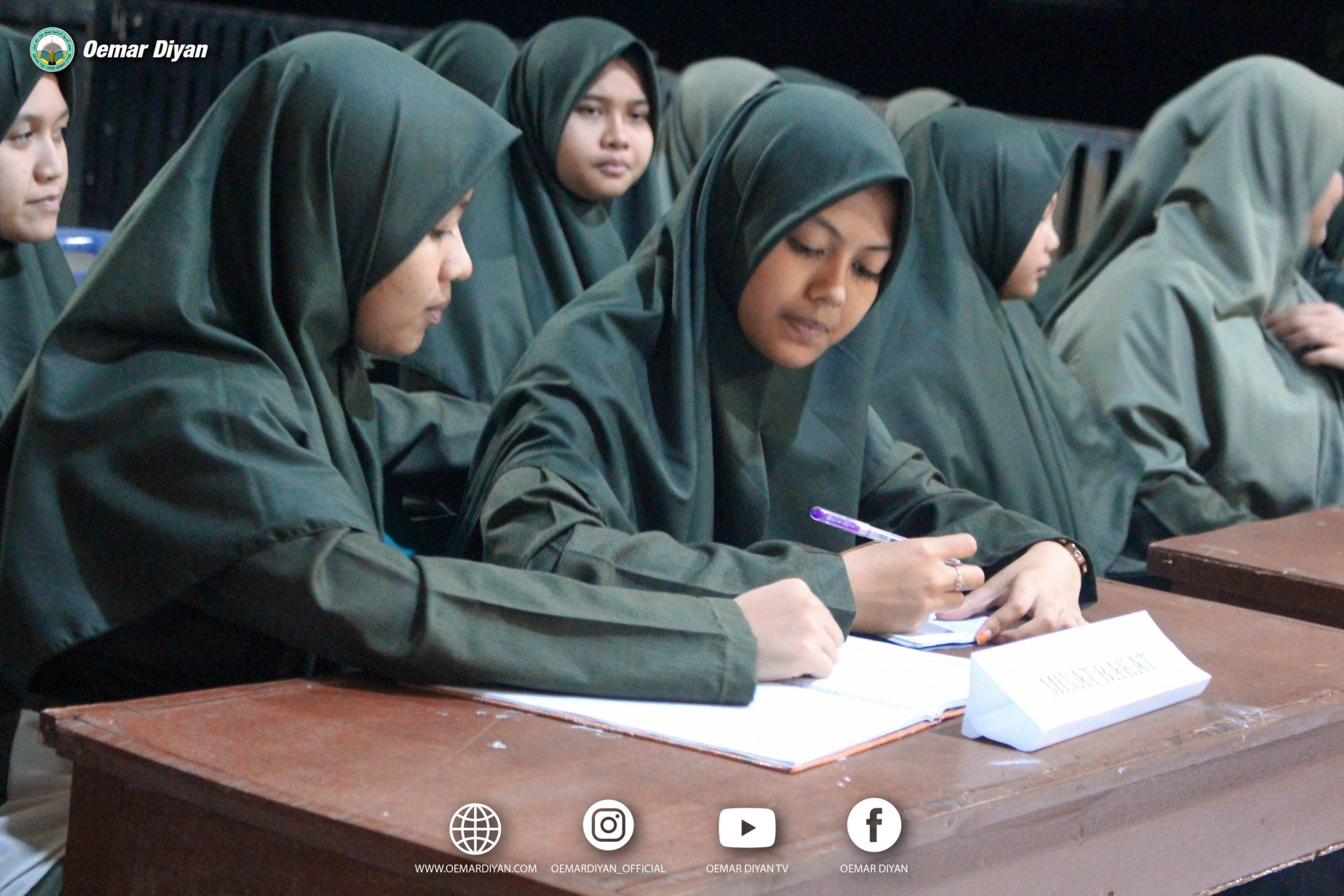 Pembahasan dan evaluasi Program Kerja OPDTCU Santriwati Oemar Diyan
